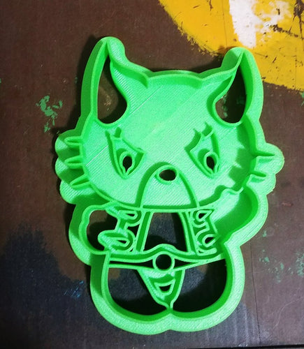 3D Printed Cookie Cutter Inspired by Kawaii Thundercats Panthro