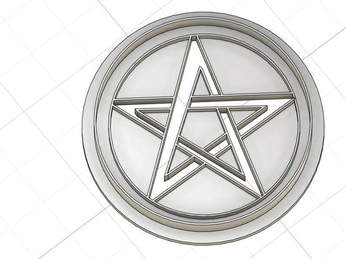 3D Printed Pentacle Cookie Cutter