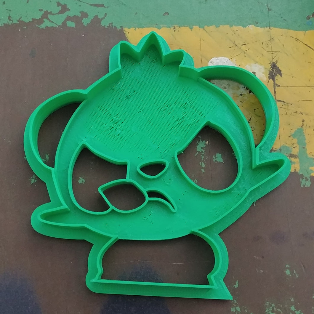 3D Printed Cookie Cutter Inspired by Pokemon Panchem