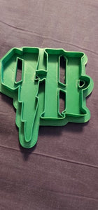 3D Printed Cookie Cutter Inspired by Harry Potter Crest