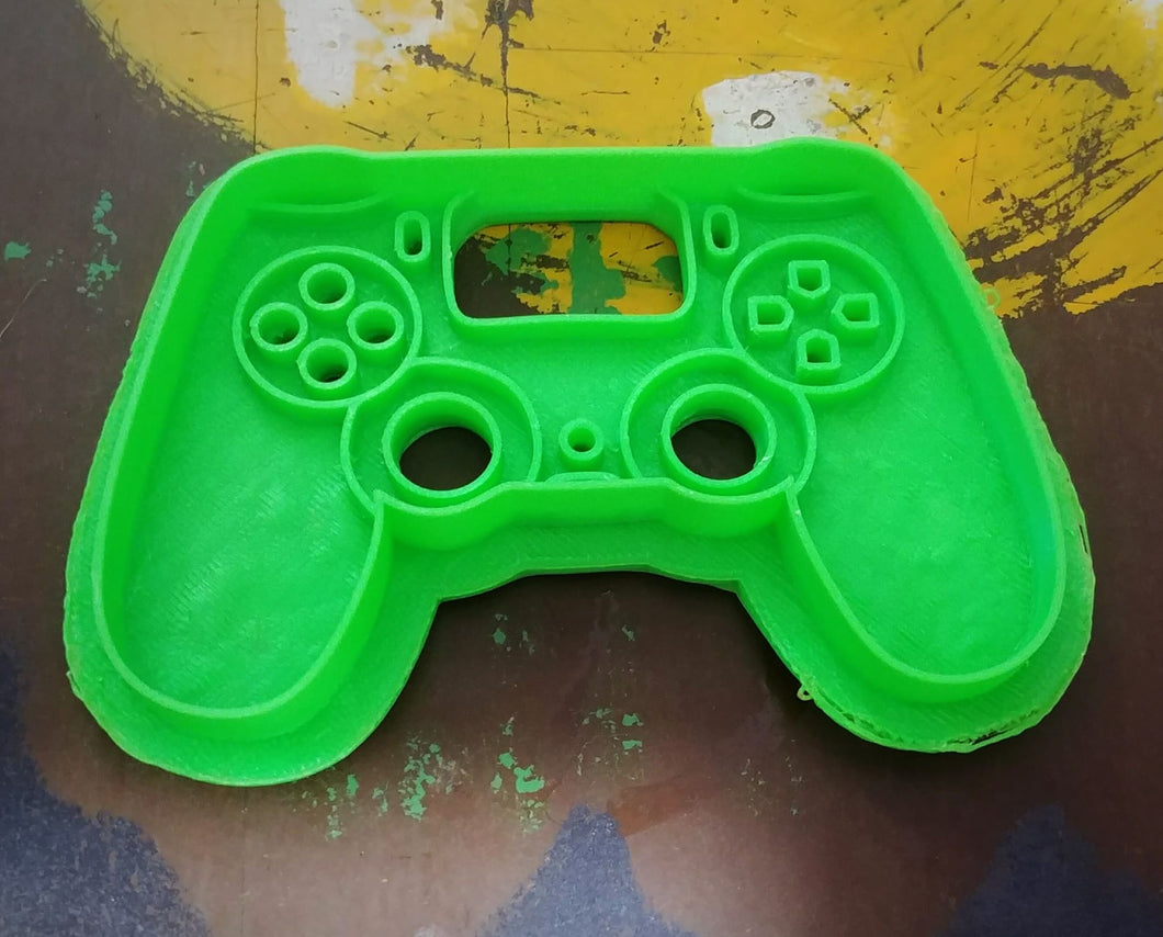 3D Printed Cookie Cutter Inspired by Sony Playstation PS4 Controller