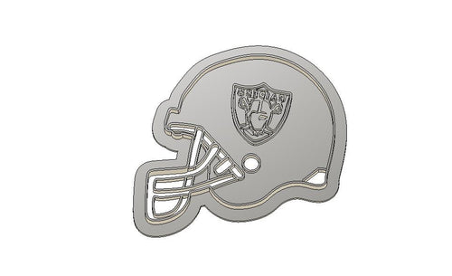 3D Printed Cookie Cutter Inspired by Oakland Raiders