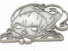 Load image into Gallery viewer, 3D Printed Cookie Cutter Inspired by Rainbow Brite