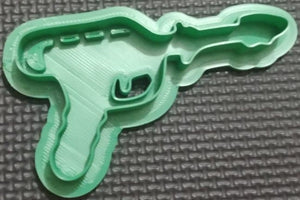 3D Printed Ray Gun Cookie Cutter