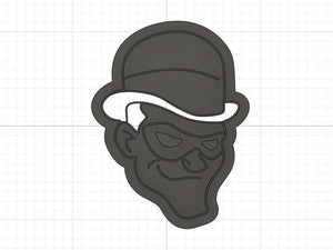 3D Printed Cookie Cutter Inspired by DC Comics Riddler