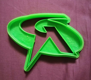 3D Printed Cookie Cutter Inspired by DC Comics Robin Logo