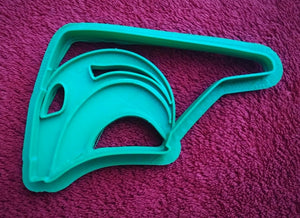 3D Printed Cookie Cutter Inspired by Rocketeer Helmet