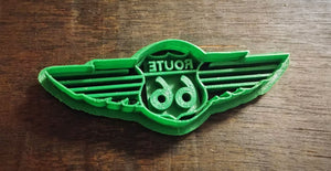 3D Printed Cookie Cutter Route 66