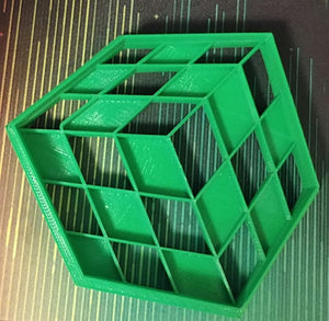 3D Printed Cookie Cutter Rubiks Cube