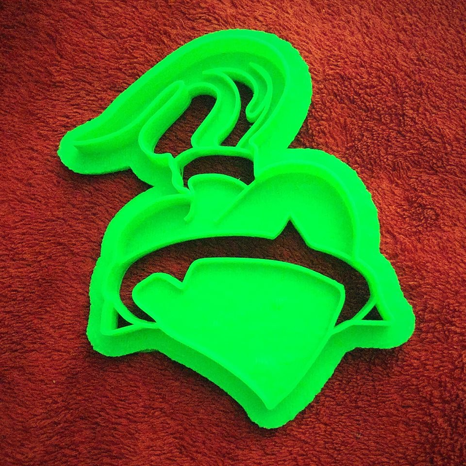 3D Printed Cookie Cutter Inspired by Sacred Heart