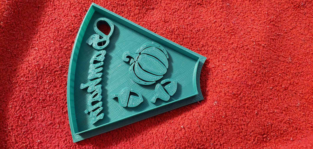 3D Printed Samhain Holiday Cookie Cutter