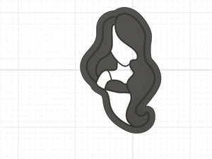 3D Printed  Cookie Cutter Inspired by Hocus Pocus Sarah Sanderson