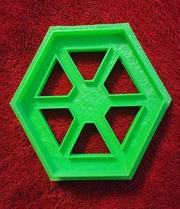 3D Printed Cookie Cutter Inspired by Star Wars Separatists Logo