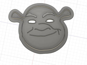 3D Printed Cookie Cutter Inspired by Shrek