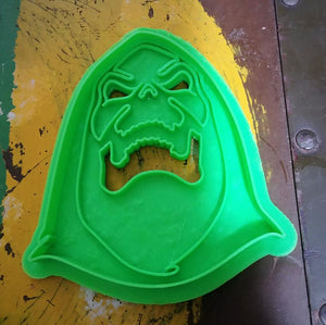 3D Printed Cookie Cutter Inspired by Masters of the Universe Skeletor