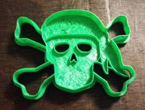 Set of 6 Pirate Cookie Cutters