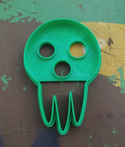 3D Printed Cookie Cutter Inspired by Soul Eater Deaths Mask