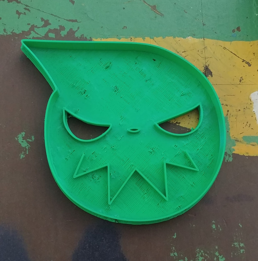 3D Printed Cookie Cutter Inspired by Soul Eater Logo