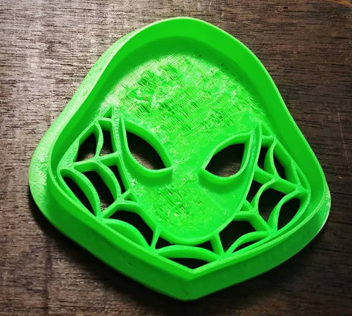 3D Printed Cookie Cutter Inspired by Marvel Spider Gwen