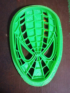 3D Printed Cookie Cutter Inspired by Marvel's Spiderman