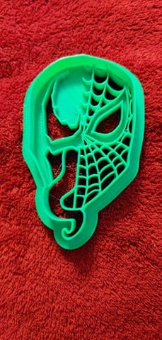 3D Printed Cookie Cutter Inspired by Marvel Spider Venom Symbiote