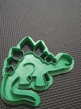 Load image into Gallery viewer, 3D Printed Stegosaurus Dinosaur Cookie Cutter