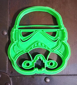 3D Printed Cookie Cutter Inspired by Star Wars Stormtrooper