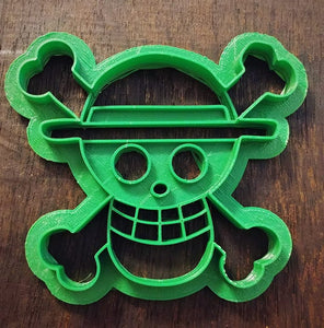 3D Printed Cookie Cutter Inspired by One Piece Straw Hat Pirates