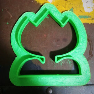 3D Printed Cookie Cutter Inspired by Super Mario World Flower