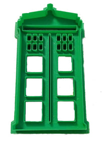 3D Printed Cookie Cutter Inspired by Dr. Who Tardis