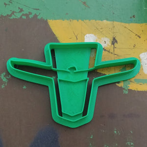 3D Printed Cookie Cutter Inspired by Thunderbird Fender Emblem