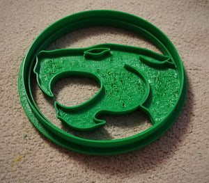3D Printed Cookie Cutter Inspired by Thundercats Logo