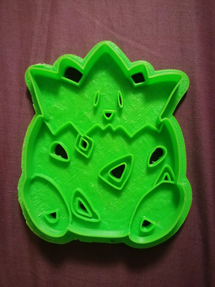 3D Printed Cookie Cutter Inspired by Pokemon Togepie