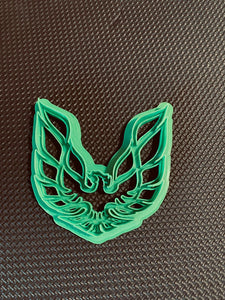 3D Printed Cookie Cutter Inspired by the Pontiac Trans Am Emblem
