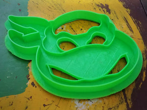 3D Printed Cookie Cutter Inspired by TMNT Turtle Head