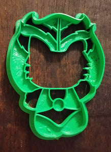 3D Printed Cookie Cutter Inspired by Kawaii Thundercats Tygra