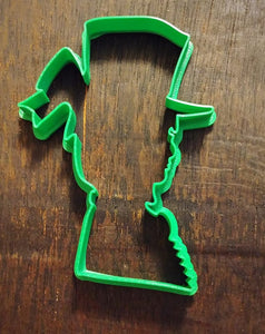 3D Printed Cookie Cutter Inspired by Victorian Woman