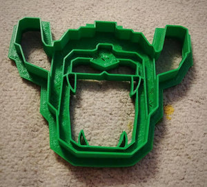 3D Printed Cookie Cutter Inspired by Voltron