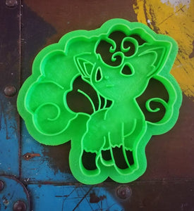 Set of 6 Pokemon Cookie Cutters