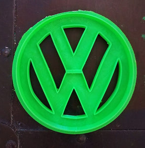 3D Printed Cookie Cutter Inspired by Volkswagen Emblem