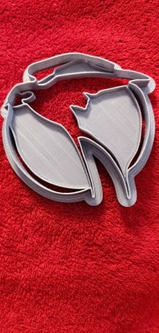 3D Printed Cookie Cutter Inspired by The Witcher Raven Symbol