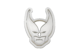 3D Printed Cookie Cutter Inspired by X-Men Wolverine Head