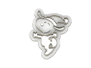 3D Printed Cookie Cutter Inspired by Christmas Snoopy