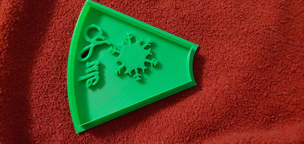 3D Printed Yule Holiday Cookie Cutter
