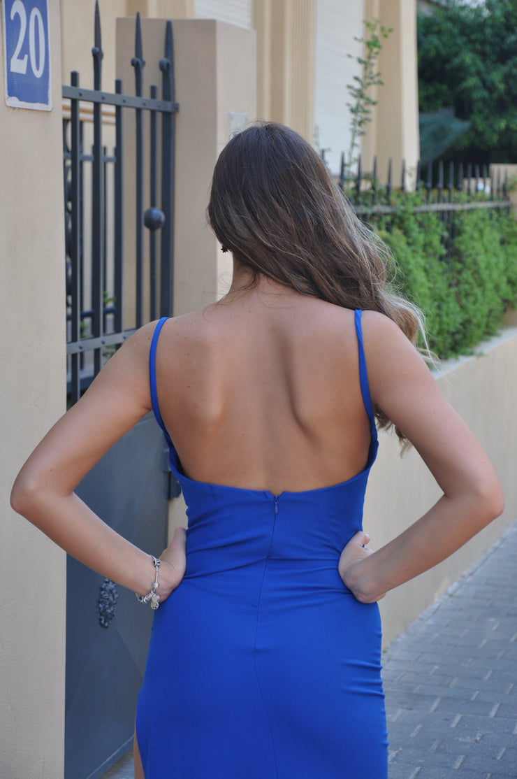 Angelina Dress - Blue