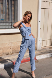 Paula Suit - Light Blue