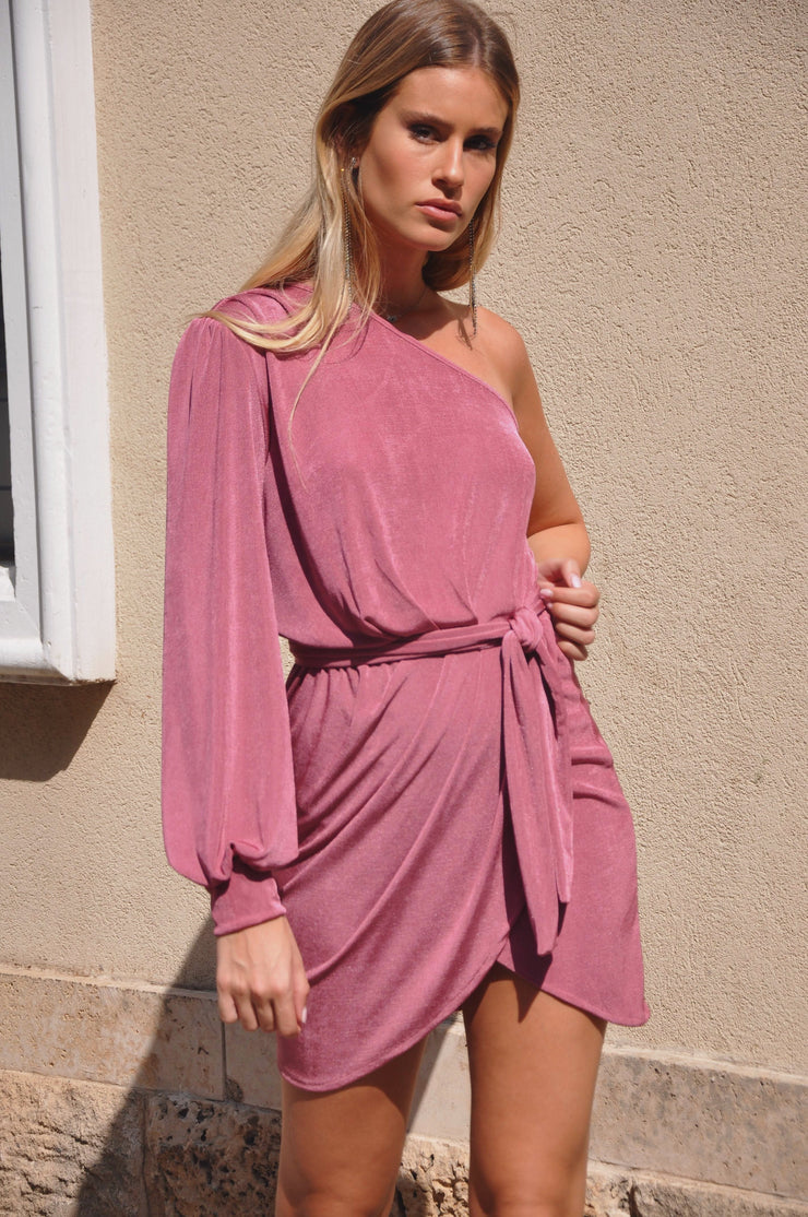 Victoria Bizou Dress - Pink