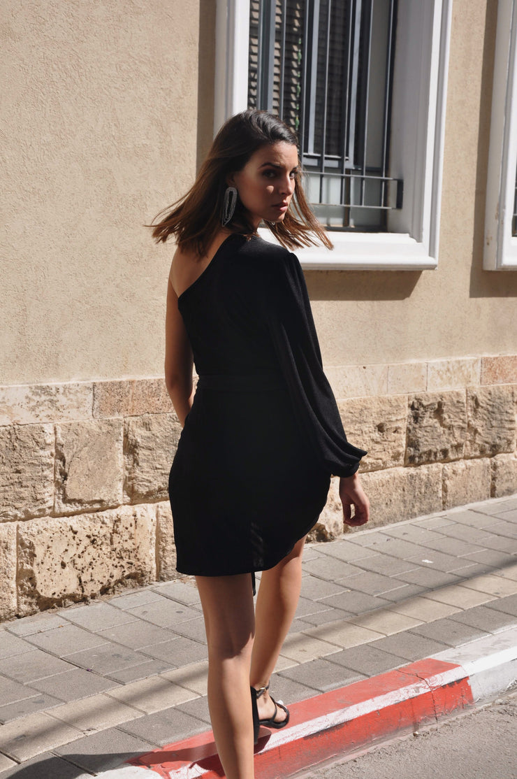 Victoria Bizou Dress - Black