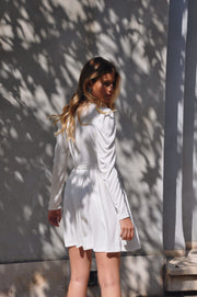 Andrea Dress - White