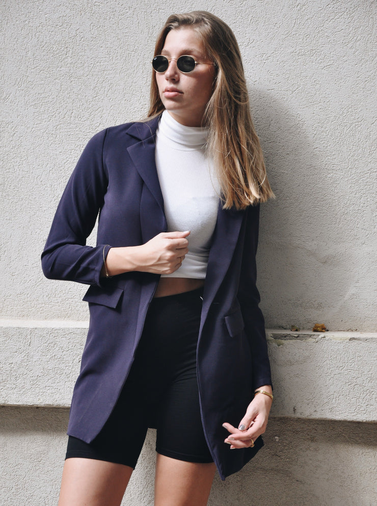 Navy-Blue Blazer